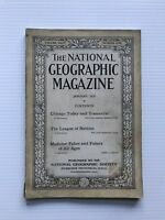 National Geographic Magazine - January 1919 - Chicago Today And Tomorrow