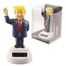Donald Trump Président Big Perruque Energie Solaire Flip Flap Toy Figure