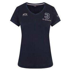 Damen T-Shirt FAVOURITAS TECH HV Polo navy - NEU
