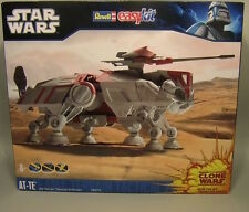 REVELL EASY KIT STAR WARS CLONE WARS AT-TE MODEL MIB US SELLER RARE