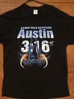 VTG 1998 WWF Stone Cold RATTLER Austin 3:16 T shirt XL Snake Fangs Titan Sports