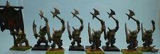 WARHAMMER Miniature Orchi Capoguerra - Orc Warboss Troops - FUORI CATALOGO RARO