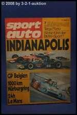 Sport Auto 7/72 BMW Sport Targa Florio Le Mans + Poster