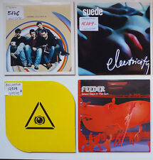 SUEDE - THE LIGHTING SEEDS - GARBAGE - FEEDER  LOT OF 4 CD SINGLES / SOME PROMOS