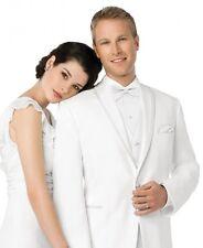 After Six White LaStrada tuxedo coat 44R  Great for prom/wedding/dj