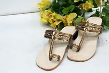 US Copper women kolhapuri chappals flip flop kolhapuri sandal slipper HH257