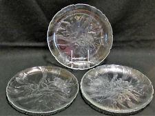 "Arcoroc Canterbury Crocus Dinner Plate Floral Flower Dish 10 3/4""  Set of 4 New"