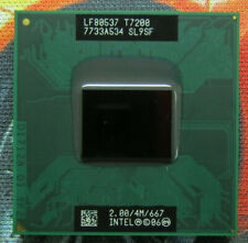 MATCHED PAIR Intel Core Duo T2400 CPU Processor 1.83GHz 2M 667MHz Socket M SL8VQ