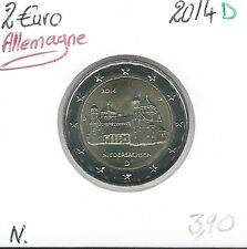 2 Euros - ALLEMAGNE - 2014 - Lettre: D // Qualité: Neuve