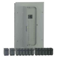 Ge 100 Amp 20 Space 20 Circuit Indoor Wall Main Breaker Box Electrical Panel