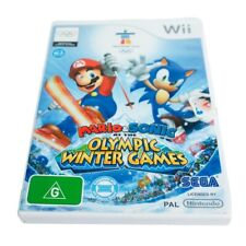 Mario & Sonic at the Winter Olympic Games Vancouver 2010 -  Nintendo Wii - COMPL