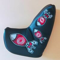Golf Rocket Blade Odyssey Putter Cover Magnetic Headcover