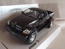 "Dodge Ram Power Wagon Black Die Cast Metal Model Car Pickup Truck 5""Kinsmart New"