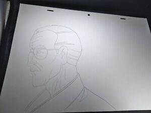 Marvel animation cels Production Art Comics ULTIMATE SPIDERMAN STAN LEE drawing