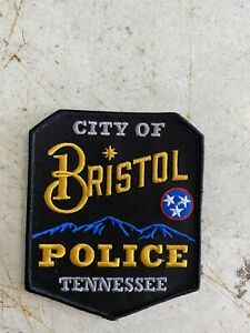 Bristol Police Department Tennessee Patch