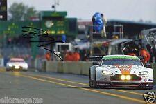 "LE Man Endurance Championship Bruno Senna Aston Martin Hand Signed Photo 12x8"" D"
