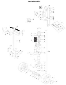Dichtsatz BT L2000 bis Serie 9 Pumpeinrichtung