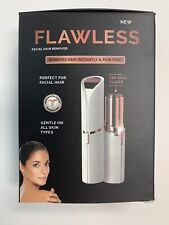 2020 Flawless LED Lighted Electric Facial Hair Remover - NEW- FAST SHIPPING