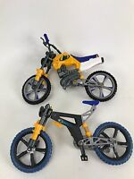Lot Of 2 RaRe Vintage from the 90's N-Tek Mountain Bike Boy's Collector Toy Bike