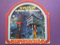 "SON LALIN BIZARRE MIX OF DISCO W. GALICIAN FOLK 12"" 1978 LOOPS SAMPLES BAGPIPES"