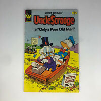 Uncle Scrooge #195 White Whitman 1982 Bronze Age Comic Book