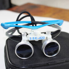 Neuf dentaire loupes binoculaires Magnifier Glasses 3.5x420mm for dental medical