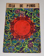 1968 Original Cuban Movie Painting MOCKUP.Isla de Pinos.Unique Art Piece!Boceto