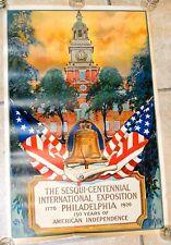 ORIGINAL 1926 Print, Sesqui-Centennial international Expo Philadelphia DAN SMITH
