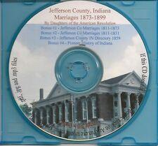 Jefferson County Indiana Marriages  + Bonus