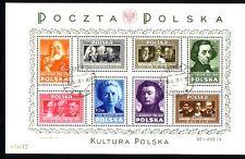 Polen Block 10  gestempelt