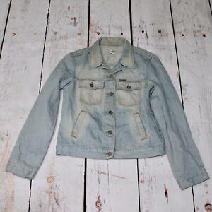 Calvin Klein Vintage Denim Jacket Size Medium Armpit To Armpit Is 45 9/10