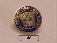 50 X mark lapel badge freemason masonic masonry chapter the red freemasonry