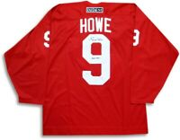 "Gordie Howe Signed Autographed Jersey Red Wings ""HOF 1972"" Inscribed JSA COA"