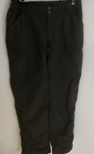 The North Face Convertible Roll Up Pants Shorts Women's Size 10