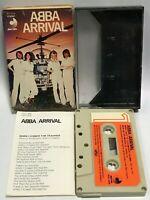 ABBA Japan Cassette Tape Arrival DCP-1506 Slip Case Insert Discomate