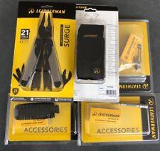 Limited Edition Leatherman Surge Bundle Sheath, Belt Clip, Bit Set, Bit Extender