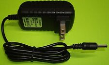 5V 2A AC/DC 3.5mm Power Charger Supply for Sylvania Tablet eReader PC