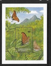1982 Dominica Butterflies Minisheet SG MS820 Unmounted mint (MNH)