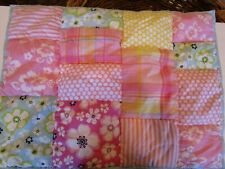 Pottery Barn Kids Lahaina Standard patchwork quilted sham New wo tag