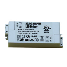 ADOGO LED Transformer LED Power Supply- 60W, 12V DC, 5A - Constant Voltage for L