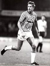 ORIGINALE stampa foto Sheffield Wednesday LEE CHAPMAN 1987