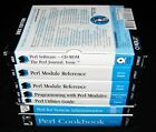 Perl Unix 4Book Set w/Software + Perl Cookbook & System Administration