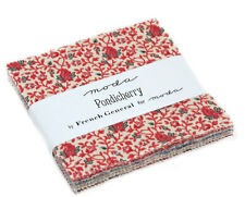 Moda FABRIC Charm Pack ~ PONDICHERRY ~ by French General 42 - 5 inch squares