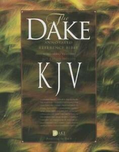 Dake's Annotated Reference Bible-Kjv