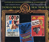 Sealed THOSE GLORIOUS MGM MUSICALS Good News, Etc.3-Soundtracks 2 LPs Album 1973