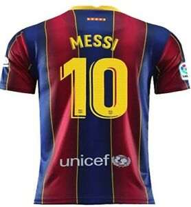 Lionel Messi 2020-2021 Home Soccer Jersey