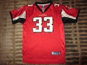 Atlanta Falcons #33 Turner Reebok Red Edition NFL Jersey Youth XL 18-20