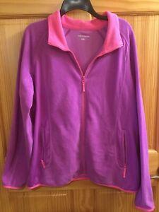 Womans Xersion XXL Fleece Jacket
