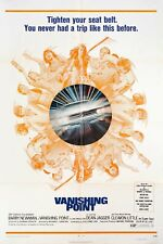 Vanishing Point 1971 U.S. One Sheet Poster