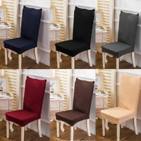 4pcs/set Spandex Stretch Chair Cover Banquet Party Decor Dining Room Seat Covers
